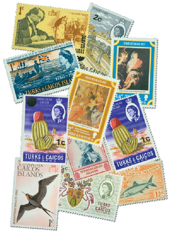 Turks & Caicos Islands, set of 25