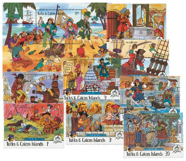 Turks & Caicos 1985 Pirates