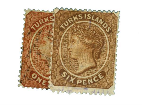1883-89 Turks Islands