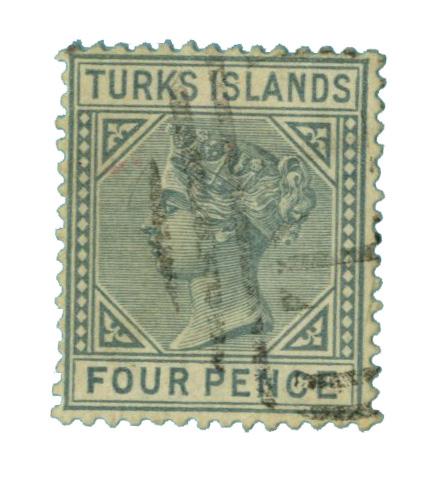 1884 Turks Islands