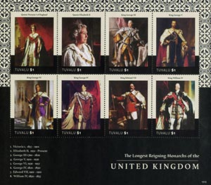 2015 Longest Reigning Monarchs of UK sh
