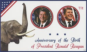 2011 Ronald Reagan Birth Anniversary S/S