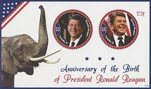 2011 Ronald Reagan Birth Anniversary S/S