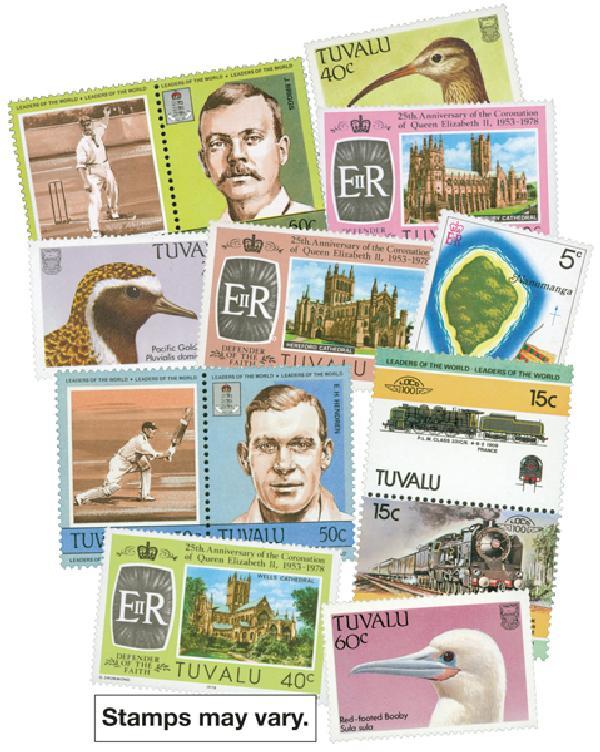 Tuvalu, 50 stamps
