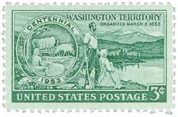 1953 3¢ Washington Territory