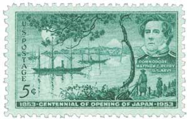 1953 5¢ Opening of Japan Centennial