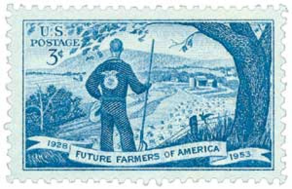 1953 3¢ Future Farmers of America