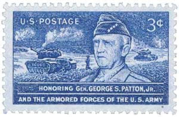 1953 3¢ General George S. Patton, Jr.