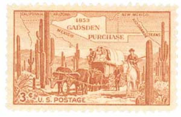 1953 3¢ Gadsden Purchase