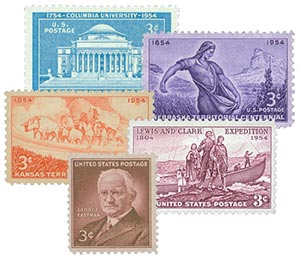 1954 Commemoratives