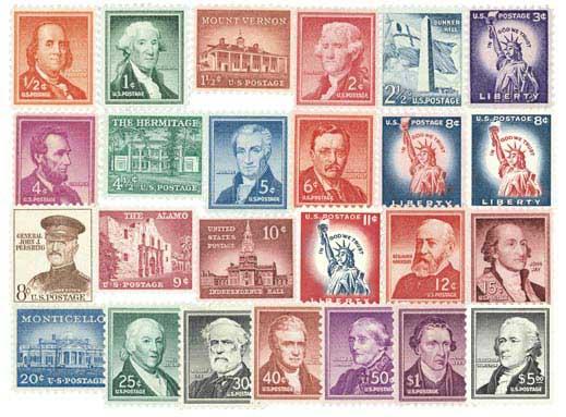 1954-61 Liberty Series 27v 1/2c-$5