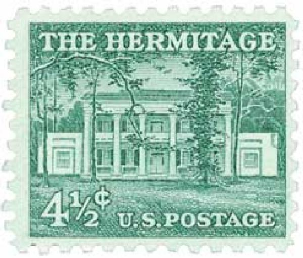1959 Liberty Series - 4 1/2¢ The Hermitage