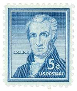 1954 Liberty Series - 5¢ James Monroe