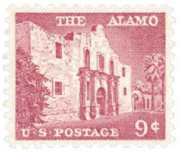 1956 Liberty Series - 9¢ The Alamo