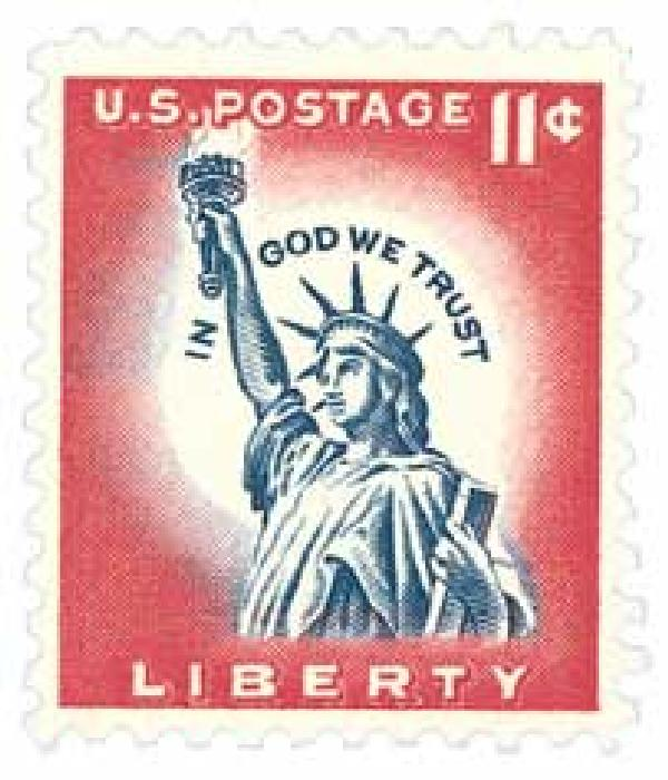 1961 Liberty Series - 11¢ Statue of Liberty