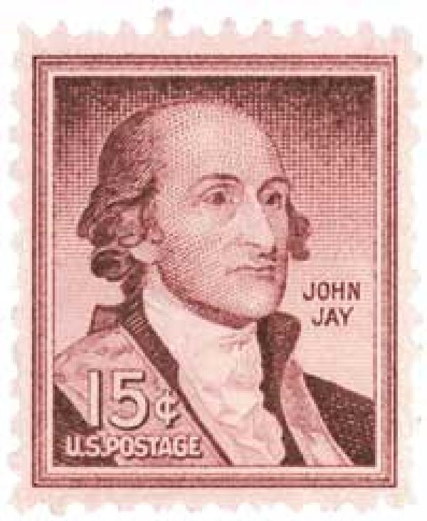 1958 Liberty Series - 15¢ John Jay