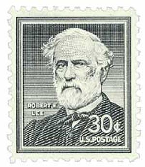 1955 Liberty Series - 30¢ Robert E. Lee