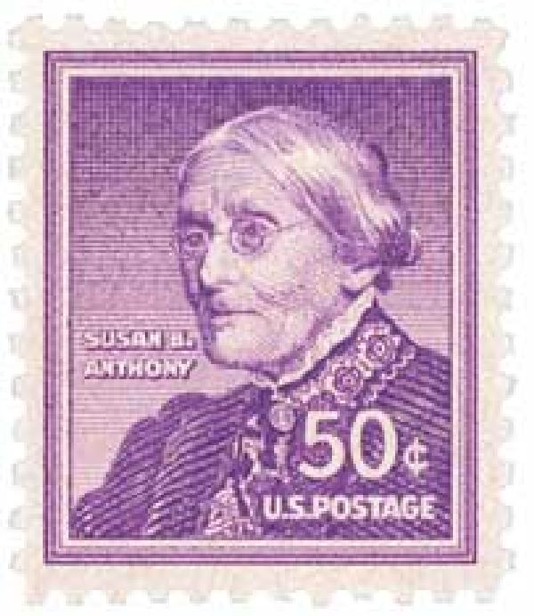 1955 Liberty Series - 50¢ Susan B. Anthony