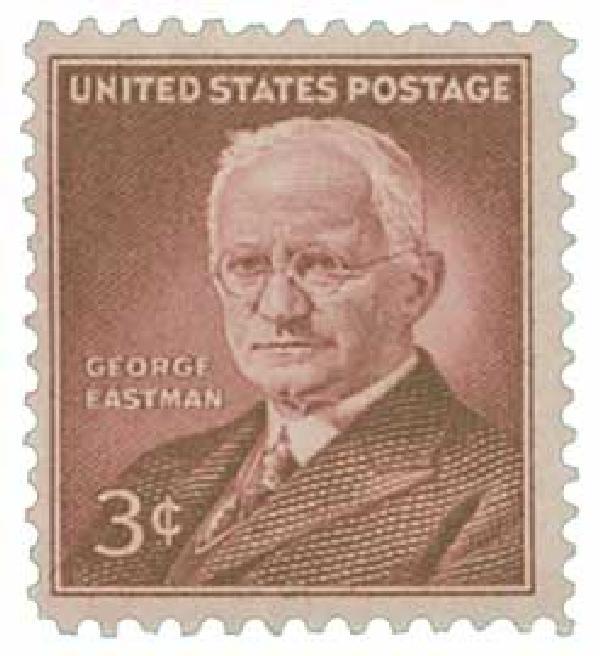 1954 3¢ George Eastman
