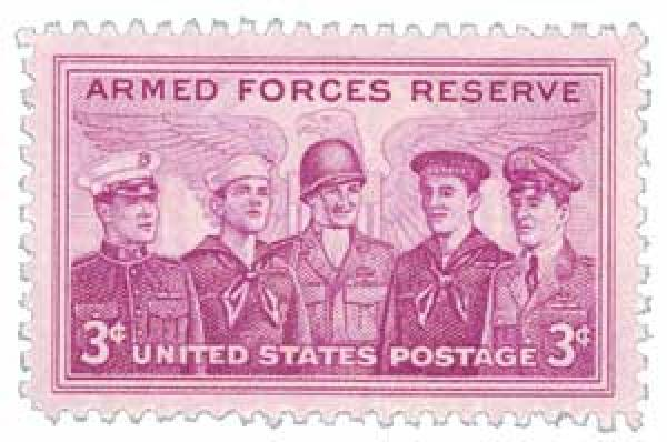 1955 3¢ Armed Forces Reserve