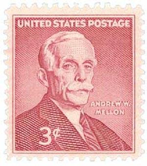 1955 3¢ Andrew W. Mellon