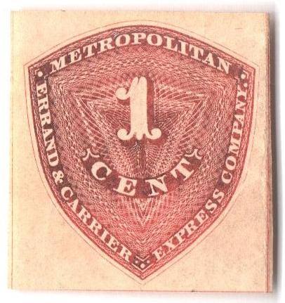1855 1c red orange