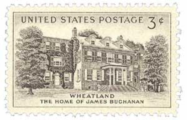 1956 3¢ Wheatland