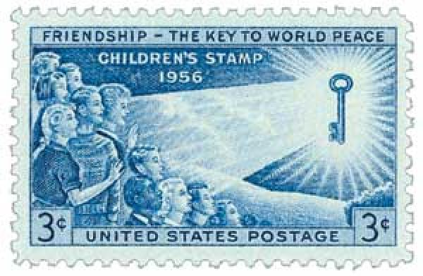 1956 3¢ Children's Issue
