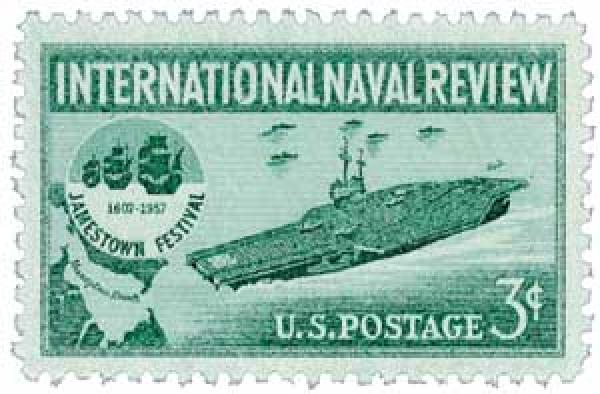 1957 3¢ International Naval Review