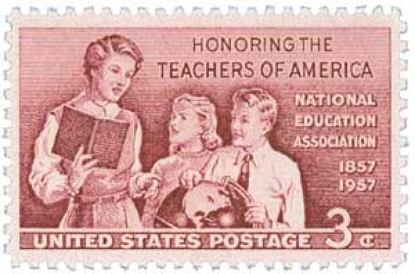 1957 School Teachers stamp