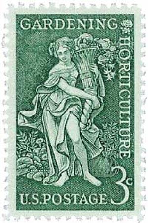 1958 3¢ Gardening - Horticulture