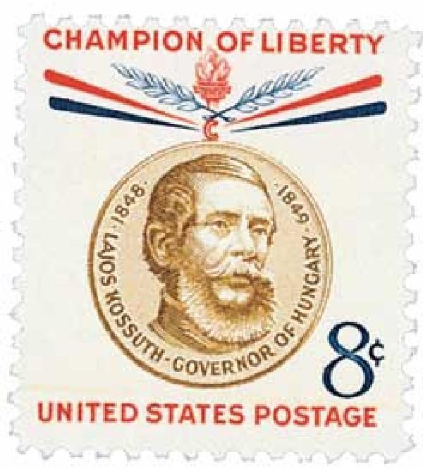 1958 8¢ Lajos Kossuth