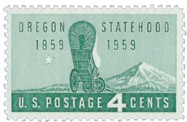 1959 4¢ Oregon Statehood
