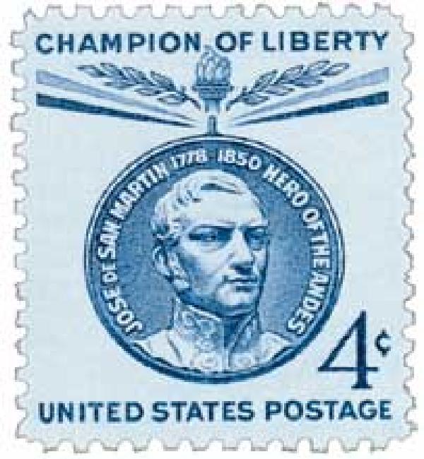 1959 4¢ Jose de San Martin