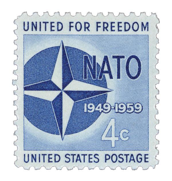 1959 4¢ Nato