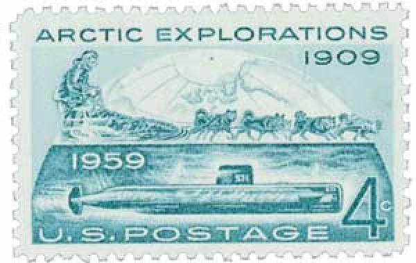 1959 4¢ Arctic Explorations
