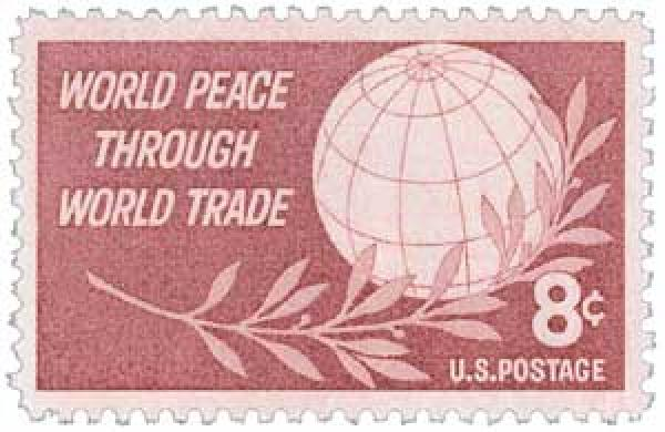 1959 8¢ World Peace through World Trade