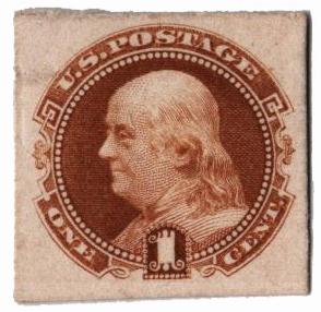 1869 1c buff