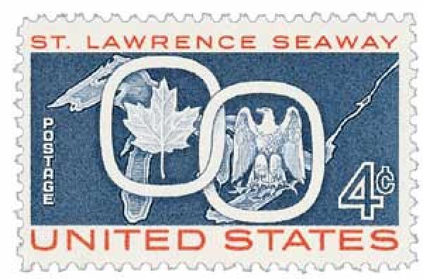 1959 4c St. Lawrence Seaway