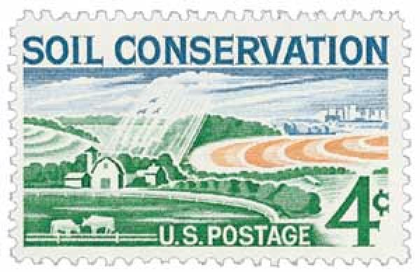 1959 4c Soil Conservation