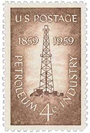 U.S. #1134 was issued in Titusville, PA, the site of the first oil well in America.