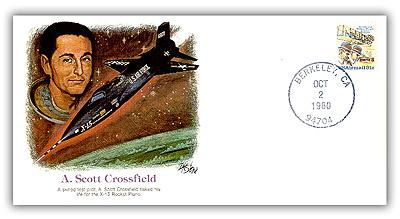1980 POF A. Scott Crossfield Set