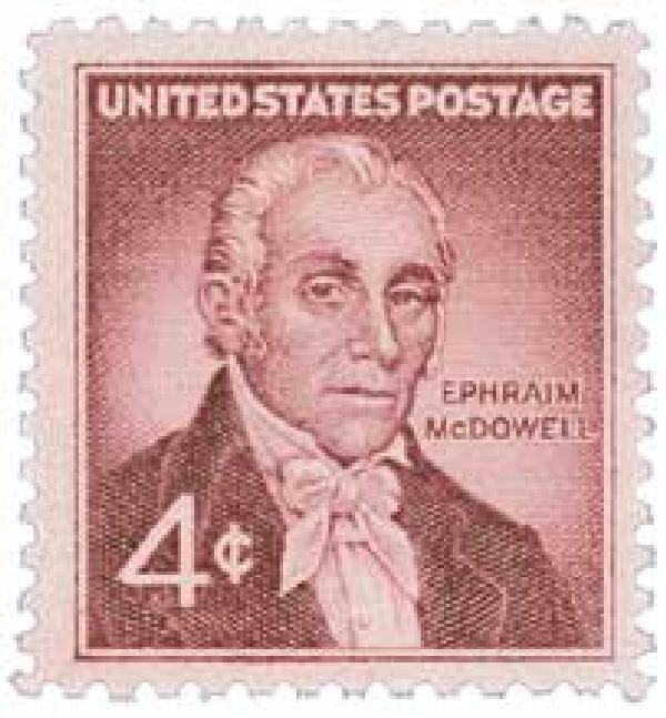 1959 4c Dr. Ephraim McDowell