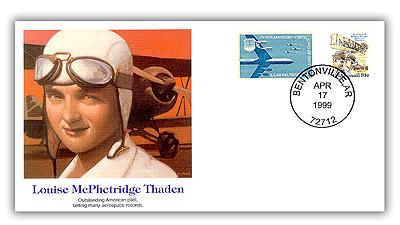 1999 Louise Thaden POF Commemorative Set