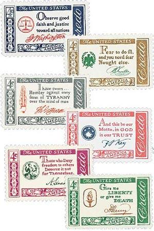Complete Set, 1960-61 American Credo Series