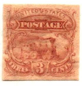 1869 3c Die on India