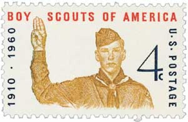 1960 4c Boy Scouts of America