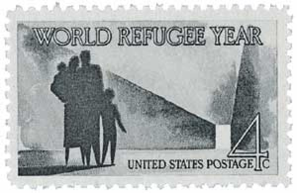 1960 4c World Refugee Year