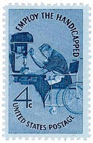 1960 4c Employ the Handicapped