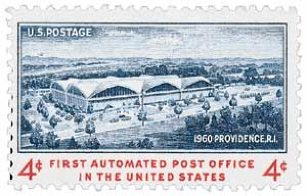 1960 4c First Automated Post Office